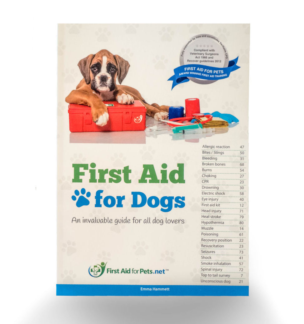 First aid for Dogs Book