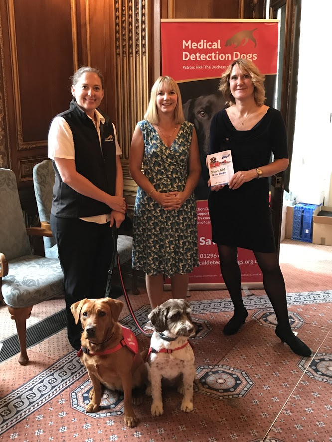 Medical Detection Dogs- a charity using animals to save lives