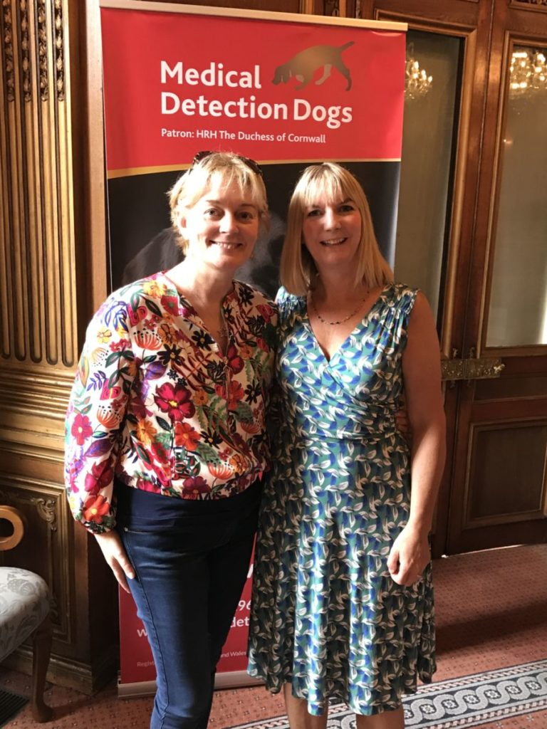 Jo Malone supports Medical Detection dogs
